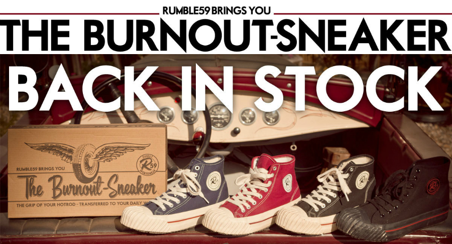 Back in Stock: The Burnout Sneaker